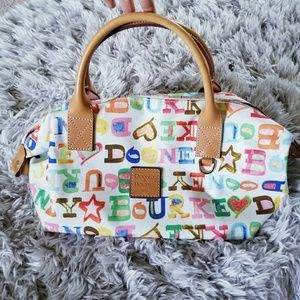Dooney & Bourke Bags - Dooney & Bourke Colorful Satchel Rainbow Zipper
